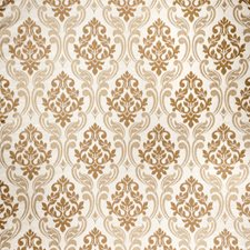 Cream Damask Decorator Fabric by Fabricut