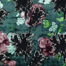 Lilypad Floral Decorator Fabric by Stroheim