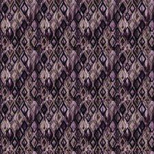 Eggplant Contemporary Decorator Fabric by Stroheim