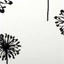 Black/White Botanical Decorator Fabric by Duralee