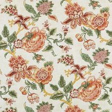 Papaya/sage Decorator Fabric by Duralee