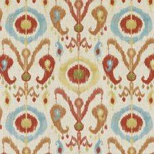 Papaya Ethnic Decorator Fabric by Duralee