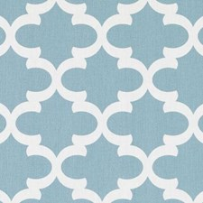 Turquoise Medallion Decorator Fabric by Duralee