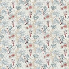 Ribbon Floral Decorator Fabric by Stroheim