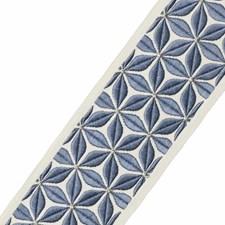 Embroidery Delft Trim by Stroheim