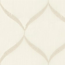 Ivory/Light Grey Modern Decorator Fabric by Kravet