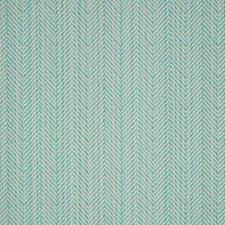 Posh Aqua Decorator Fabric by Silver State