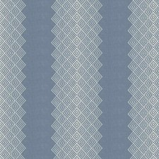 Bluebell Embroidery Decorator Fabric by Stroheim