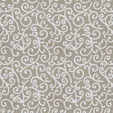 Metal Print Pattern Decorator Fabric by Trend
