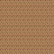 Wine Geometric Decorator Fabric by Trend
