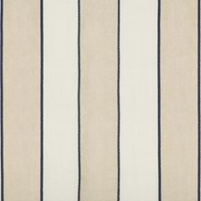 Navy Stripes Decorator Fabric by Kravet