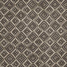 Smoke Geometric Decorator Fabric by Fabricut