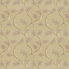 Plum Embroidery Decorator Fabric by Fabricut