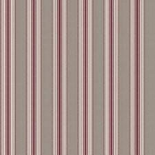 Wine Stripes Decorator Fabric by Fabricut