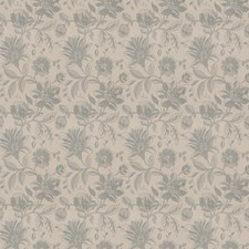 Robin's Egg Floral Decorator Fabric by Fabricut