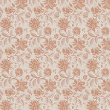 Paprika Floral Decorator Fabric by Fabricut