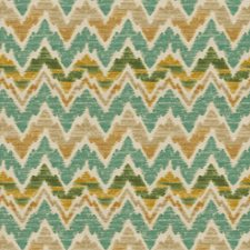 Teal Global Decorator Fabric by Fabricut