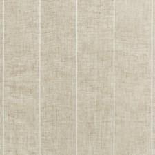 Beige/White/Camel Stripes Decorator Fabric by Kravet
