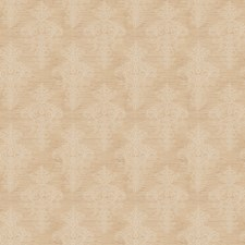 Beige Medallion Decorator Fabric by Trend
