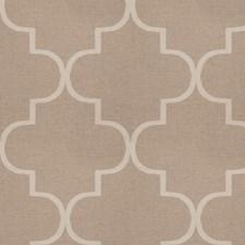 Caramel Lattice Decorator Fabric by S. Harris