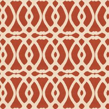 Cinnamon Embroidery Decorator Fabric by Fabricut