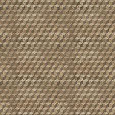 Concrete Geometric Decorator Fabric by S. Harris