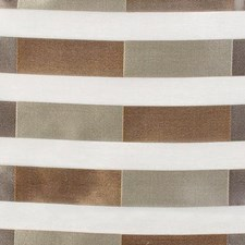 Cocoa/Silver Geometric Decorator Fabric by Highland Court