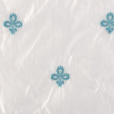 Natural/teal Decorator Fabric by Highland Court