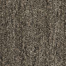 Caviar Herringbone Decorator Fabric by Vervain