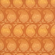 Pumpkin Global Decorator Fabric by Vervain