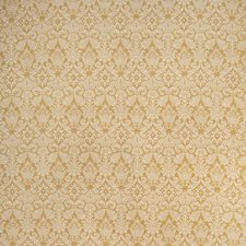 Gold Print Pattern Decorator Fabric by Vervain