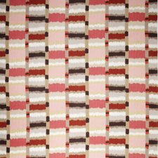 Red Global Decorator Fabric by Vervain