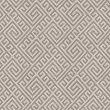 Slate Geometric Decorator Fabric by Vervain
