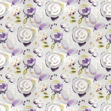 Thistle Floral Decorator Fabric by Vervain
