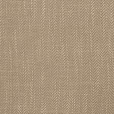 Mushroom Herringbone Decorator Fabric by Fabricut