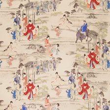 Terra Cotta Asian Decorator Fabric by Fabricut