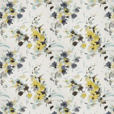Seamist Floral Decorator Fabric by Vervain