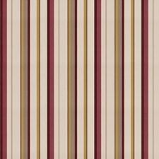 Plum Garden Stripes Decorator Fabric by Fabricut