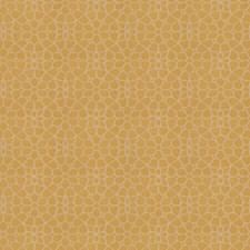 Gold Leaf Floral Decorator Fabric by Fabricut