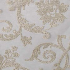 Bisque Floral Large Decorator Fabric by Duralee
