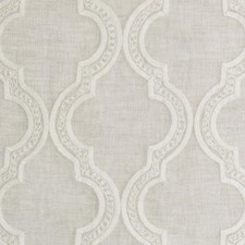 Oyster Medallion Decorator Fabric by Duralee