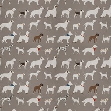 Grey Animal Decorator Fabric by Trend