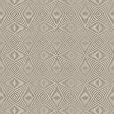 Silver Haze Geometric Decorator Fabric by Trend