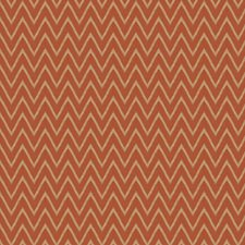 Spice Chevron Decorator Fabric by Trend