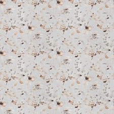 Sepia Floral Decorator Fabric by Trend
