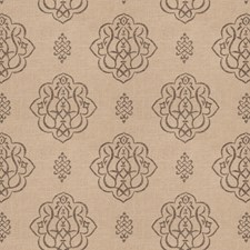 Pewter Print Pattern Decorator Fabric by Trend