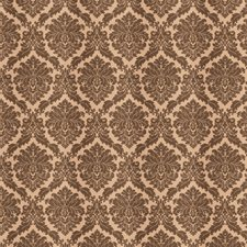 Taupe Damask Decorator Fabric by Trend