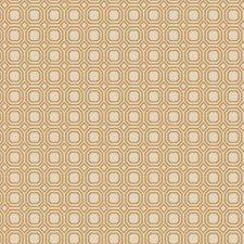 Straw Geometric Decorator Fabric by Trend