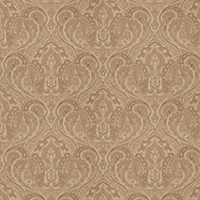 Taupe Jacquard Pattern Decorator Fabric by Trend