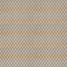Platinum Geometric Decorator Fabric by Stroheim